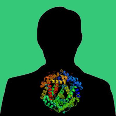 Glycosylated Human PAI-1 (latent form)